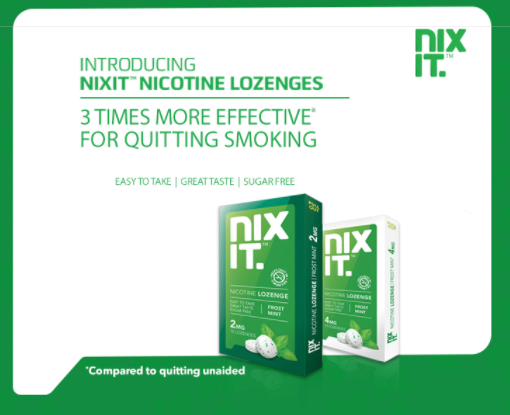 Effectiveness of Nixit In Quitting Smoking
