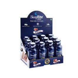 SleepRite Shotz Berry Flavor for Restful & Calm Sleep Combo Pack