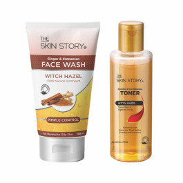 The Skin Story Pimple Care Face Wash & Toner Combo Pack