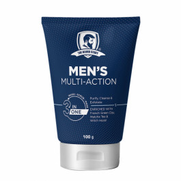 The Beard Story Men's Multi Action 3 in 1 Wash, Scrub & Mask, 100gm