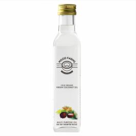 Mood Farms Cold Pressed Virgin Coconut Oil, 250ml