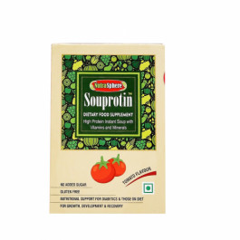 Nutrasphere Tangy Tomato Instant Protein Soup Mix with Vitamins & Minerals, 6 Sachets
