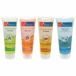 Dr Batra's Face Wash Daily Care, Moisturizing, Instant Glow with Fairness Face Wash