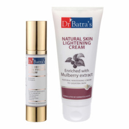 Dr Batra's Age defying Skin Firming Serum With Natural Skin Cream Combo Pack