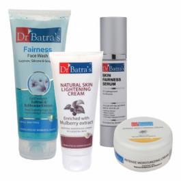 Dr Batra's Skin Serum, Face Wash, Natural Skin Cream with Intense Moisturizing Cream