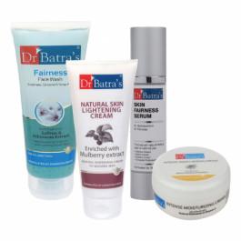 Dr Batra's Skin Serum, Face Wash, Intense Moisturizing Cream with Natural Skin Cream