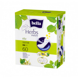 Bella Herbs Pantyliners With Tilia Flower, 60 Pieces