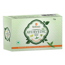 Krishna's Ayurvedic Glycerine Soap, 75gm