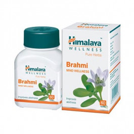 Himalaya Wellness Brahmi, 60 Capsules