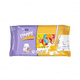 Bella Baby Happy Wet Wipes Milk & Honey, 64 Pieces