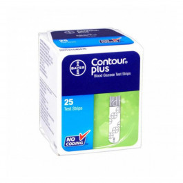 Contour Plus, 25 Test Strips