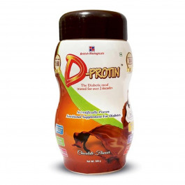 D Protin Chocolate Flavour, 500gm