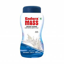 Endura Mass Vanilla Flavour, 500gm