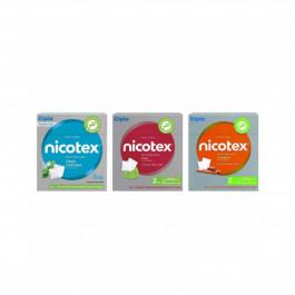 Nicotex 2mg Cinnamon, Classic Fresh Mint & Mint Plus Flavour, Pack of 3