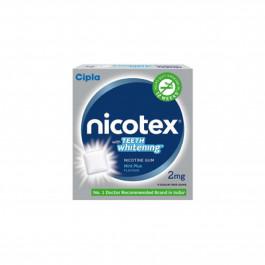 Nicotex 2mg Mint Plus, Classic Fresh Mint & Teeth Whitening Mint Plus Flavour, Pack of 3