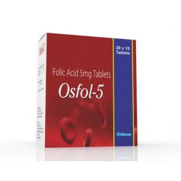 Bionova Osfol 5 Tablets, 20x15 Tablets