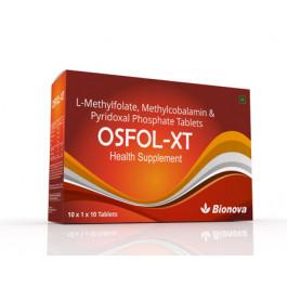 Bionova Osfol XT, 10x10 Tablets