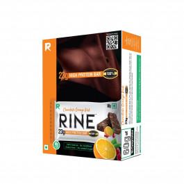 Rine Chocolate Orange Kick Protein Bar, 60gm (Pack Of 6)