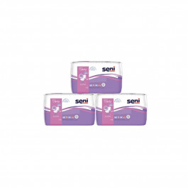 Seni Lady Bladder Control Pads Plus, 15 Pieces (Pack Of 3)