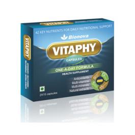 Bionova Vitaphy, 2x15 Capsules