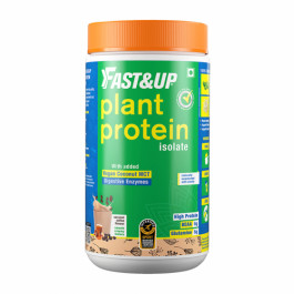Fast&Up Organic Plant Protein Caramel Coffee, 10 Servings