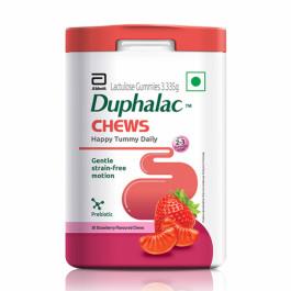 Duphalac Chewable Strawberry, 30 Gummies