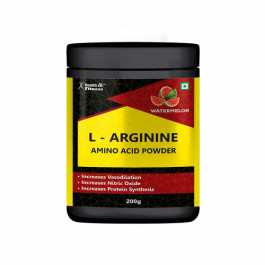 Healthvit Fitness L-Arginine Amino Acid Powder, 200gm
