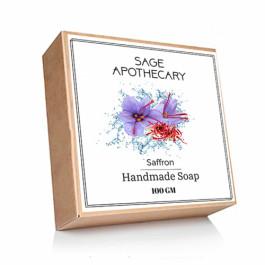Sage Apothecary Saffron Soap, 100gm