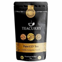Teacurry Cumin Coriander Fennel Tea (CCF Tea), 30 Tea Bags