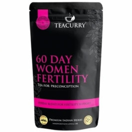 Teacurry 60 day Women Fertility, 30 Tea Bags