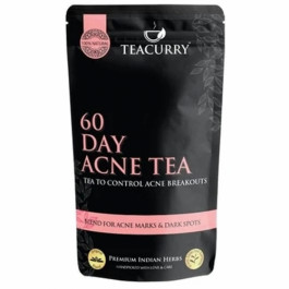 Teacurry 60 Day Acne Tea, 60 Tea Bags