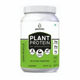PlantVita Plant Protein Blend For Lean Muscle, 1kg