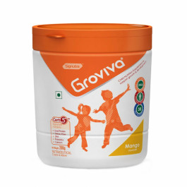 Groviva Child Nutrition Supplement Mango, 200gm