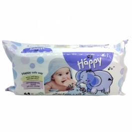 Bella Baby Happy Wet Wipes Vitamin E And Allantoin, 64 Pieces