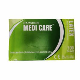 Medi care Latex Examination Gloves