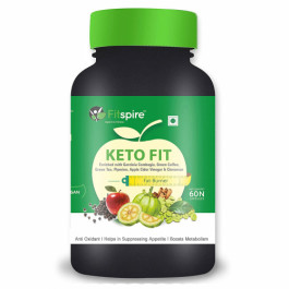 Fitspire Keto Fit Organic Weight Management, 60 Capsules