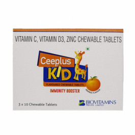Ceeplus Kid Immunity Booster, 10 Tablets (Pack Of 3)