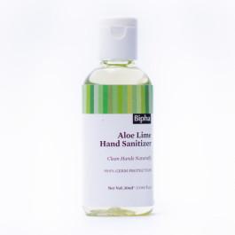 Bipha Ayurveda Aloe Lime Hand Sanitizer Liquid, 30ml