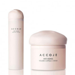 Accoje Anti - Aging Essential Firstner + Anti - Aging Volume Capsule Cream, 170ml