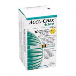 Accu Chek Active, 10 Strips