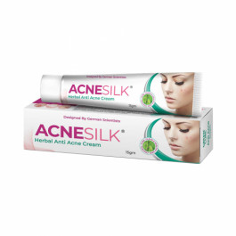 Green Cure Acnesilk Herbal Anti Acne & Pimple cream, 15gm
