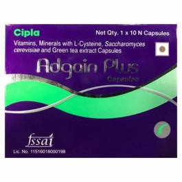 Adgain Plus, 10 Capsules