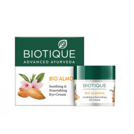 Biotique Bio Almond Soothing & Nourishing Eye Cream, 15gm