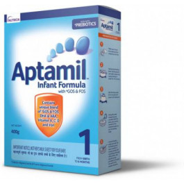 Aptamil Stage 1 Infant Formula Refill Pack, 400gm