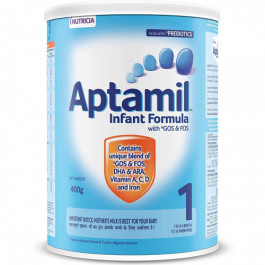 Aptamil Stage 1 Infant Formula Tin, 400gm