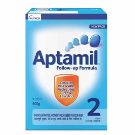 Aptamil Stage 2 Follow Up Formula Refill Pack, 400gm
