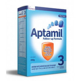 Aptamil Stage 3 Follow Up Formula Refill Pack, 400gm