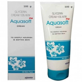 Aquasoft Glycerin Cream 15% w/w, 100gm
