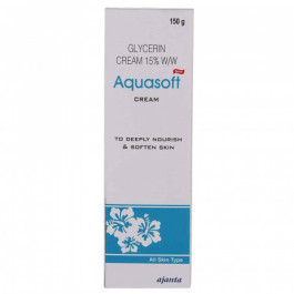 Aquasoft Glycerin Cream 15% w/w, 150gm