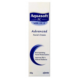 Aquasoft FC Advanced Facial Cream with Vitamin E, 60gm